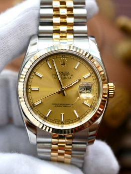 Rolex Datejust 116233 Champagne New 98%