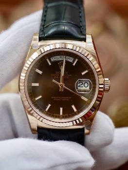 Rolex Day-Date 118135 Nâu Chocolate New 100% Fullbox 2019