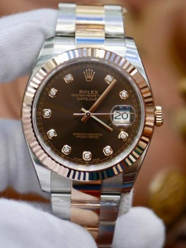 Rolex Datejust 41mm 126331 Nâu Chocolate New 100% Fullbox 2018