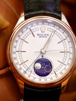 Rolex Cellini MoonPhase 50535 New 99% Fullset 2018