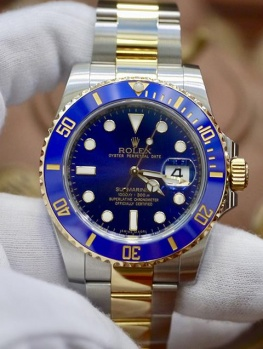 Rolex Submariner 116613LB Blue Dial New 98% 2017