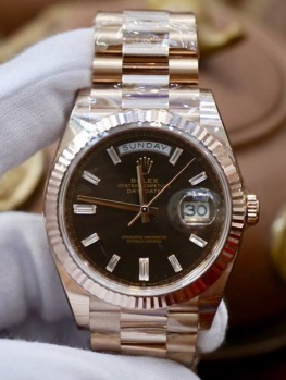 Rolex Day-Date 228235 Nâu Chocolate New 100% Fullset 2019