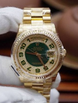 Rolex Day-Date 118238 Limited Edition Xanh Lá New 100% Fullbox 2017