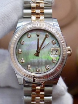 Rolex Datejust 31mm 178271 Xà Cừ Tím New 100% Fullbox 2019