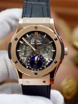 Hublot CF Aerofusion Moonphase King Gold New 100% Fullset 2019