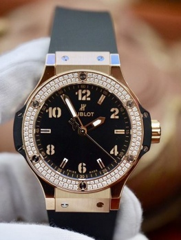 Hublot Bigbang 38mm Rose Gold New 100% Fullbox 2019