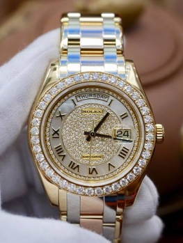 Rolex Day-Date Special Edition 18948 Xà Cừ Diamonds New 98% Fullbox 2015