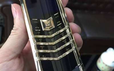 Vertu Signature S Gold New 99% Fullbox 2016