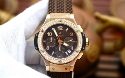 Hublot Bigbang Cappuccino King Gold New 98% Fullset 2016