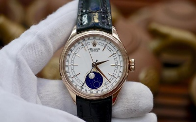 Rolex Cellini MoonPhase 50535 New 99% 2018