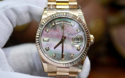 Rolex Day-Date 118235 Mother Of Pearl New 100% Fullset 2020