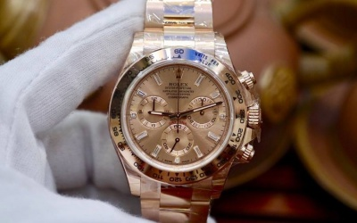 Rolex Daytona 116505 Everose Gold Baguette New 100% Fullbox 2018