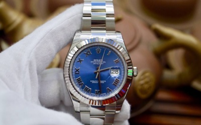 Rolex Datejust II 41mm 116334 Xanh Blue New 100% Fullbox 2016