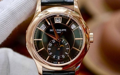 Patek Philippe Annual Calendar 5205R-010 New 100% Fullbox 2019