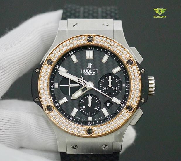 Hublot BigBang Bezel Diamond Option New 98%