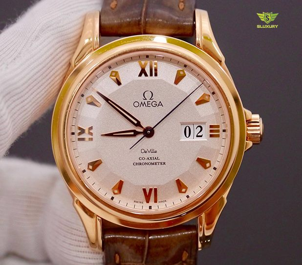 Omega DeVille Co-Axial Chronometer Limited Edition 699 Pieces New 98%