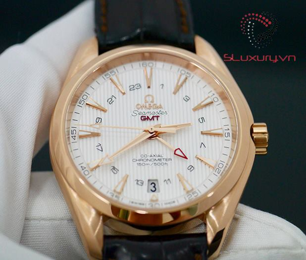 Omega Aqua Terra 150 M Omega C0-Axial GMT New 98% Fullbox 2014