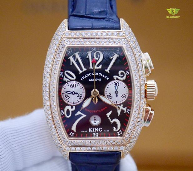 Franck Muller Conquistador King Chronograph 8002 CC New 98% Fullbox