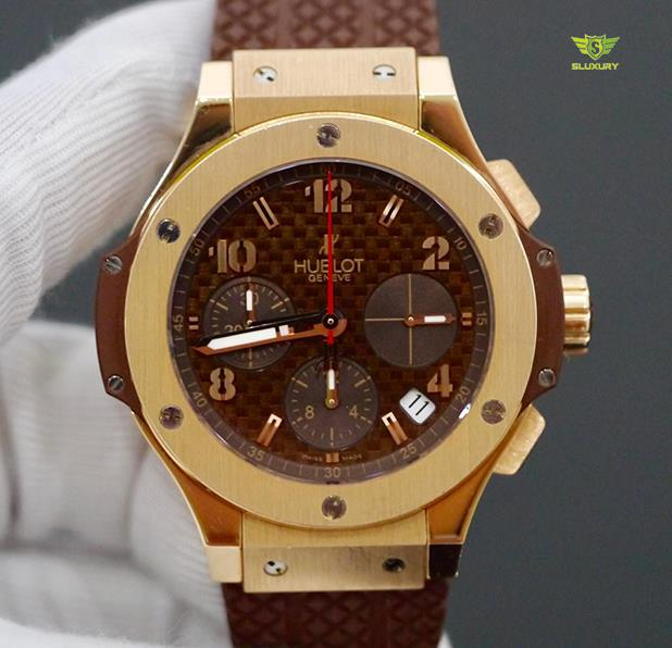 Hublot Big Bang Cappuccino Rose Gold New 98%