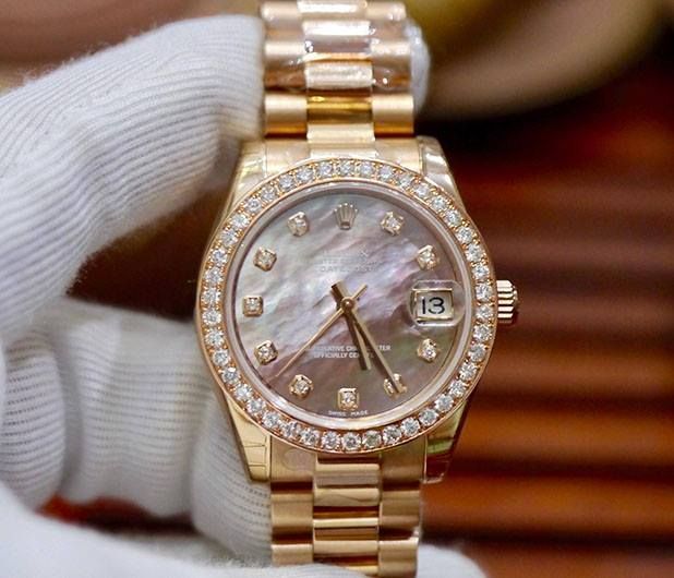Rolex Lady Datejust 178275 18K Rose Gold New 100% 2017
