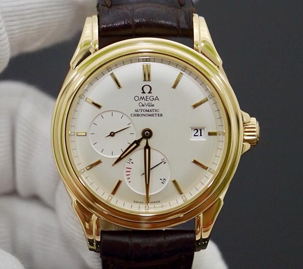 Omega Deville Chronometer Power Reserve New 98%