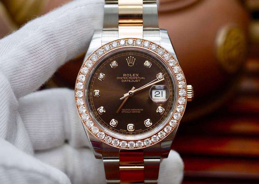Rolex Datejust 41mm 126301 Nâu...