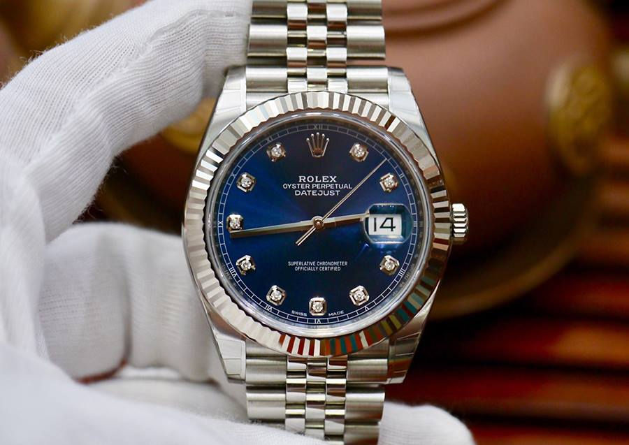 Rolex Datejust 41 126334 Xanh Navy New 99% Fullbox 2018