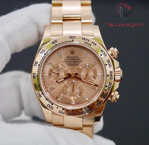 Rolex Daytona Everose Gold 116505 PBD New 98% Fullbox 2015