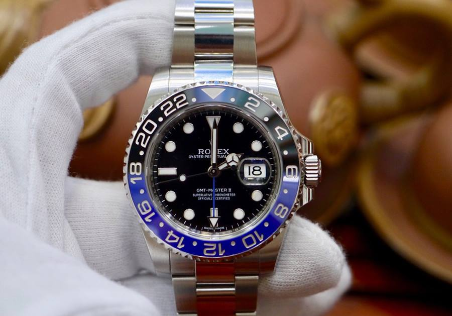 Rolex GMT Master II BatMan...