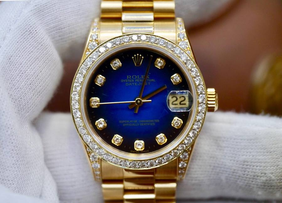 Rolex Lady Datejust 68238 Mặt...