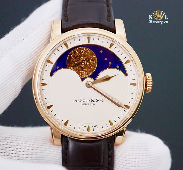 Arnold & Son HM Perpetual Moon Rose Gold New 99.9%