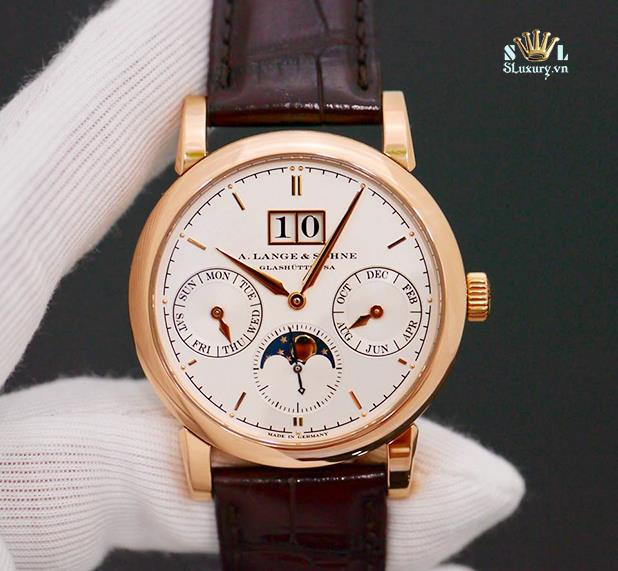 A. Lange & Sohne Saxonia Annual Calendar 330.032 New 99% Fullbox 2012