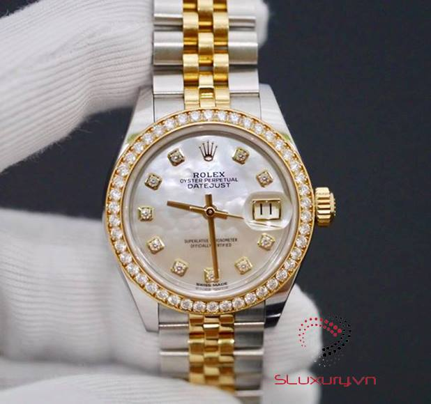 Rolex Lady Datejust 279383 New 98% 2016
