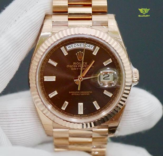 Rolex Day-Date 228235 40 Everose Gold New 100% Fullbox 2018